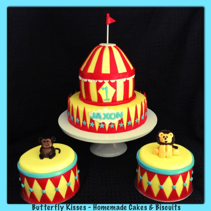 Circus themed cakes
