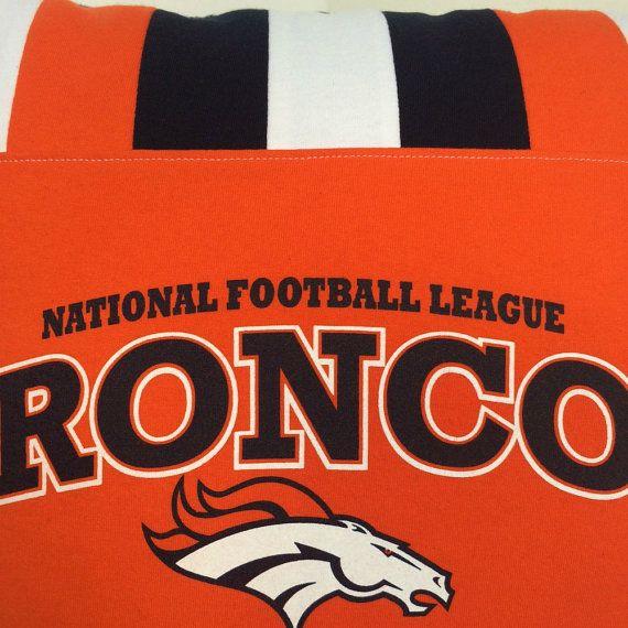 NFL Denver Broncos T shirt Pillow Memory Pillow Sports