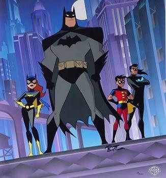 Batman, Robin, Batgirl and Nightwing