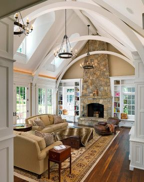 traditional living room Colonial Revival Jan Gleysteen Architects, Inc
