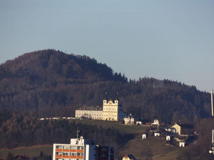 Maria Plain pilgrimage church - view from Kapuzinerberg, Salzburg
