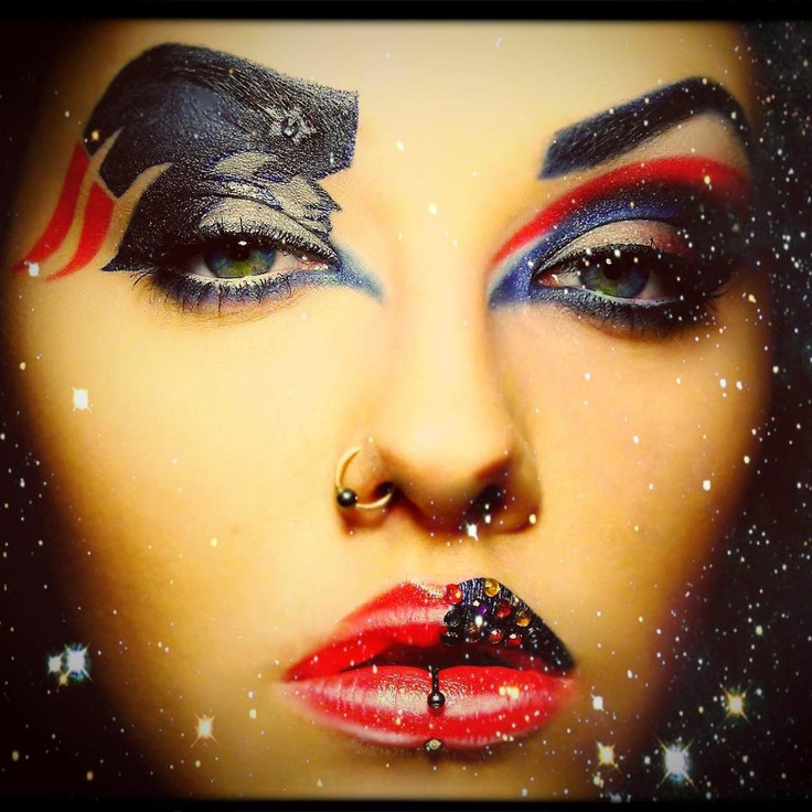 This is the most impressive Pats makeup we have ever seen! Thanks