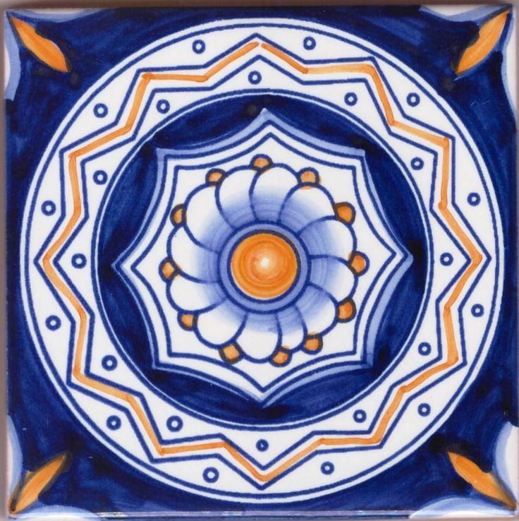 Le Riedizioni : Piastrelle in ceramica di Vietri 10 x 10