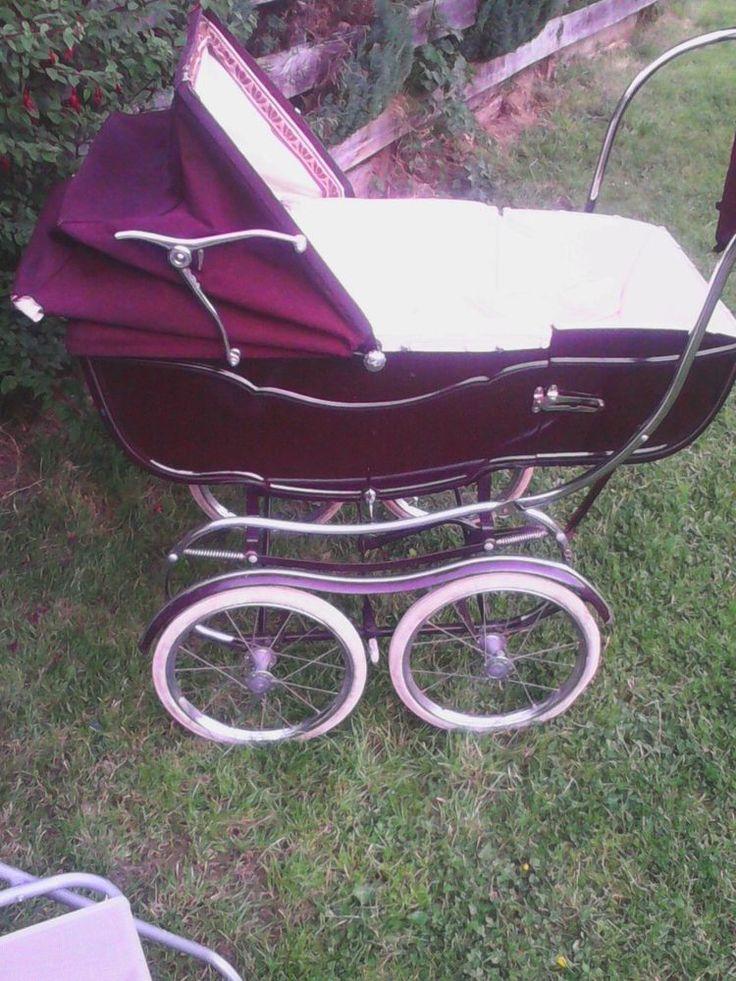 Vintage pram eBay Vintage pram, Baby strollers, Pram