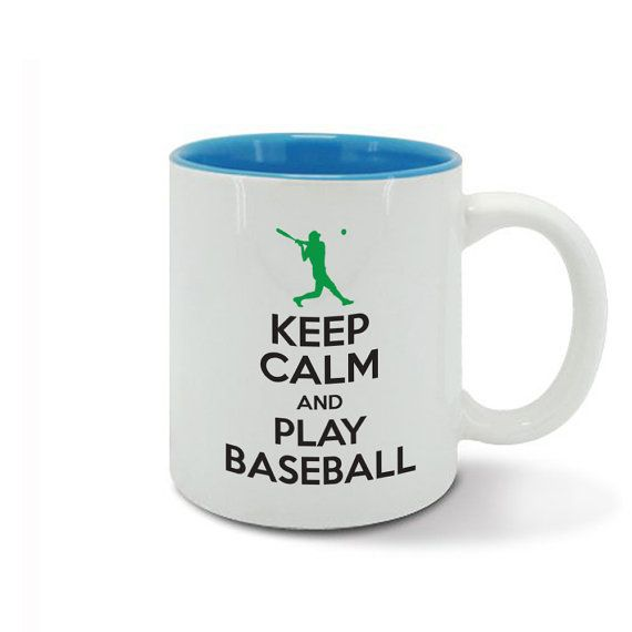 KEEP CALM and carry on play BASEBALL game by davesdisco on Etsy