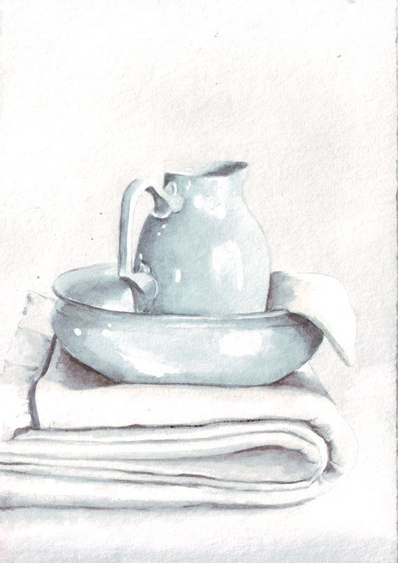 Art sold here: https://www.etsy.com/shop/HelgaMcL Still life in watercolor.