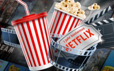 Gewinne ein Jahresabo bei Netflix!