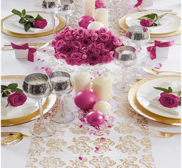 #Organza mit #Muster - ideal als #Tischdekoration:)  www.ebay.de/usr/pressiode