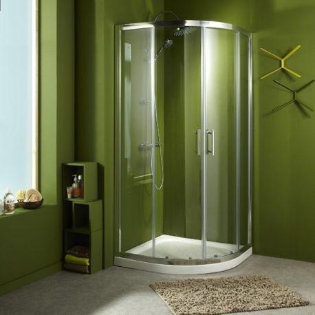 17 meilleures id es propos de douche d angle sur for Rideau de douche circulaire