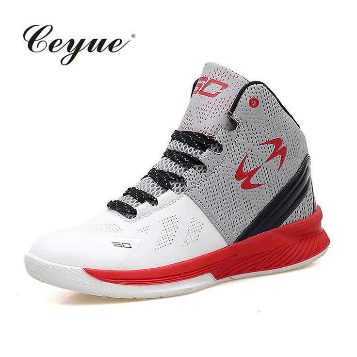 Мужчины Баскетбол Обувь Высокие Верхние Красные Кроссовки Корзина Микрофибры Кожа Zapatillas Deportivas Hombre Мужчины Дышащая Легкая Атлетика #hats, #watches, #belts, #fashion, #style