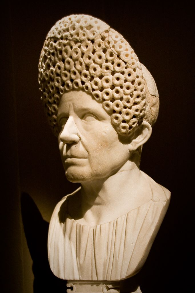 c. 65-100 CE) Elderly Roman Woman | archaeology & prehistoric 2 ...