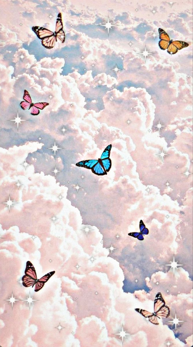Fly High Butterfly Wallpaper Cute Wallpaper Backgrounds Iconic Wallpaper