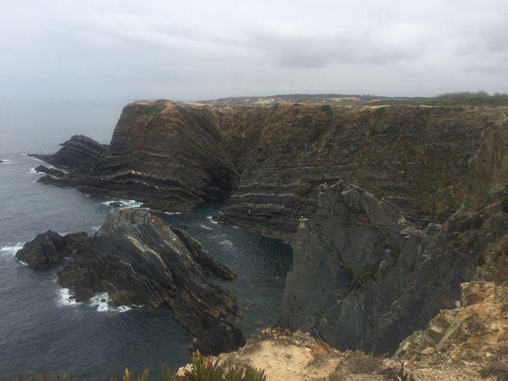 Falésia, Cabo do Sardão, Portugal