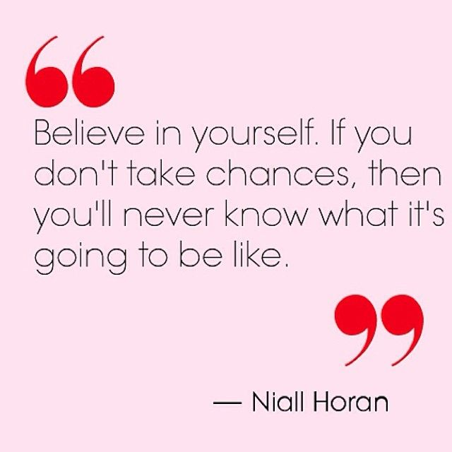 i believe in chances Quotes authors  g  gisele bundchen  i believe in taking chances and.
