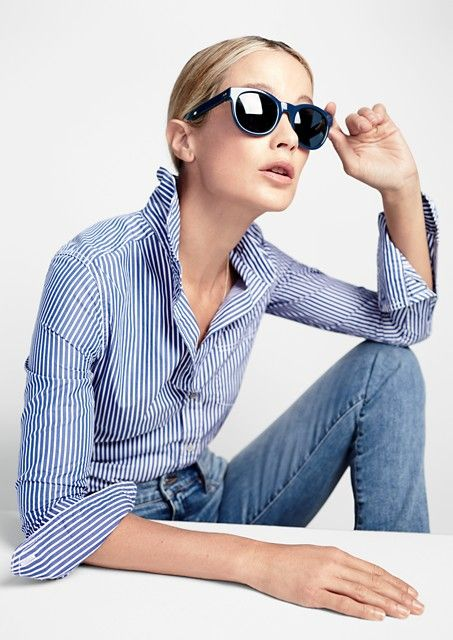 The sun is shining and the snow is melting. Perfect time for J.Crew to launch their new line of sunglasses. There are six different frame styles for women and three for men ranging in price from $98 to $128. A perfect little present to buy yourself to get through the end of winter.