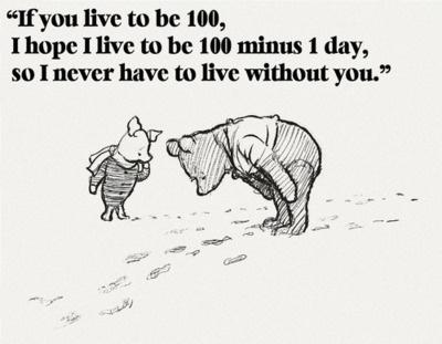 The wisdom of Pooh.