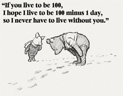 The wisdom of Pooh.