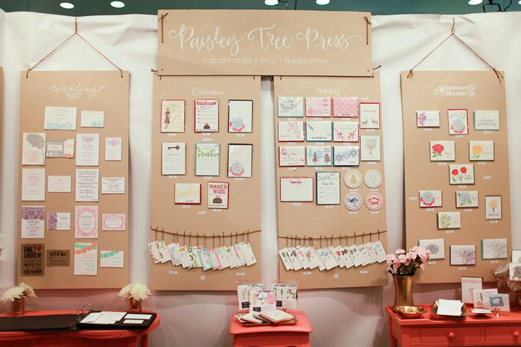 National Stationery Show 2012: Paisley Tree Press   Photo Credit: Oh So Beautiful Paper