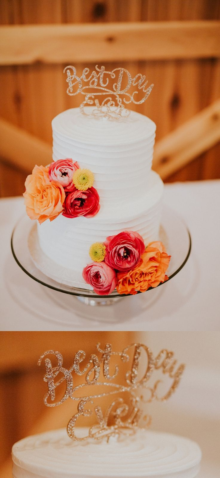 wedding cake #rusticweddinginspiration