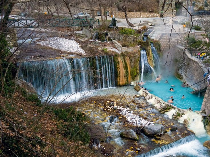 Tapping into Greece's Thermal Springs for Tourism