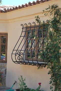 Wrought Iron Window Design Ideas, Pictures, Remodel, and Decor