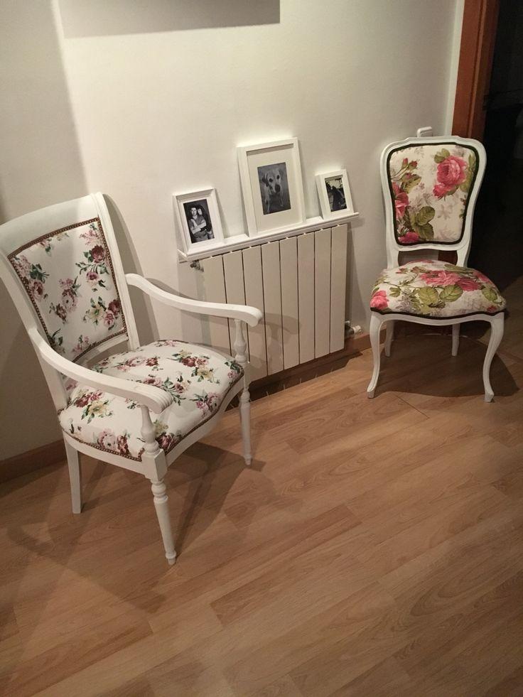 Ideas sillas restauradas. #silla #decoideas #sillasrestauradas #vintage