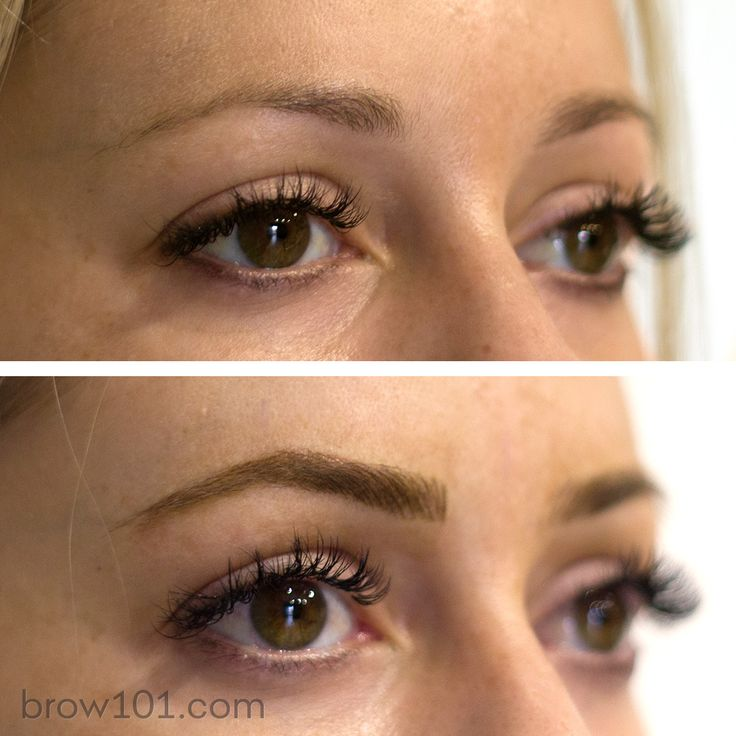 18 best images about brow 101 microblading on pinterest for Powder eyebrow tattoo