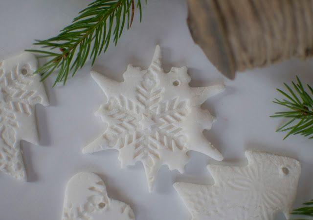 soda dough christmas decorations
