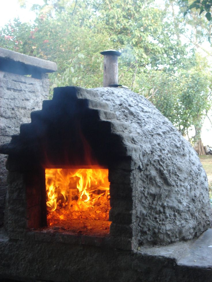 Pan de campo en horno de barro