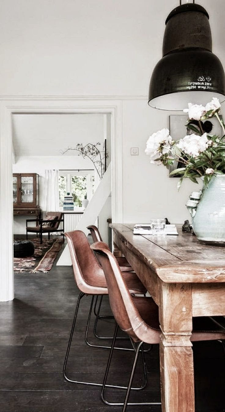 Dining Room Inspiration L 10 Stylish Dining Rooms. Industrial Dining Rooms Rustic ...