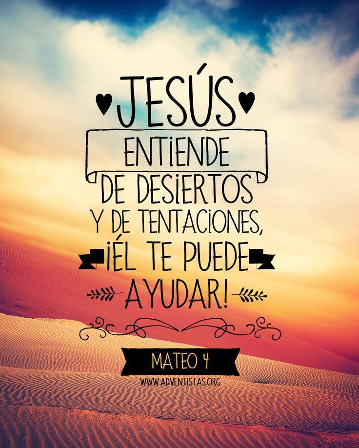 Hebreos 2:18 Pues en cuanto él mismo padeció siendo tentado, es poderoso para…