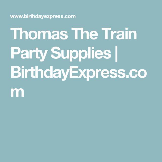 Thomas The Train Party Supplies   BirthdayExpress.com