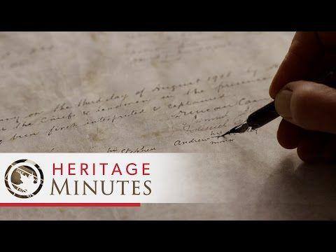 (5) Heritage Minutes: Naskumituwin (Treaty) - YouTube