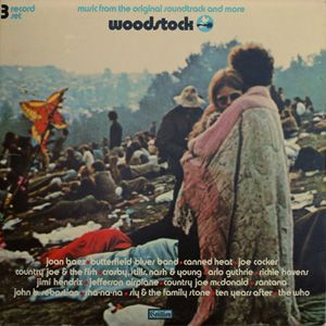 Woodstock - Music from the Original Soundtrack Released on Atlantic Records' Cotillion label as a set of 3 LPs on May 11, 1970 (later reissued on the Atlantic label). Veteran producer Eddie Kramer was the sound engineer during the three-day event. Most of the tracks have some form of stage announcement, conversation by the musicians, etc., lengthening the tracks to an extent. A must have for any record collection !