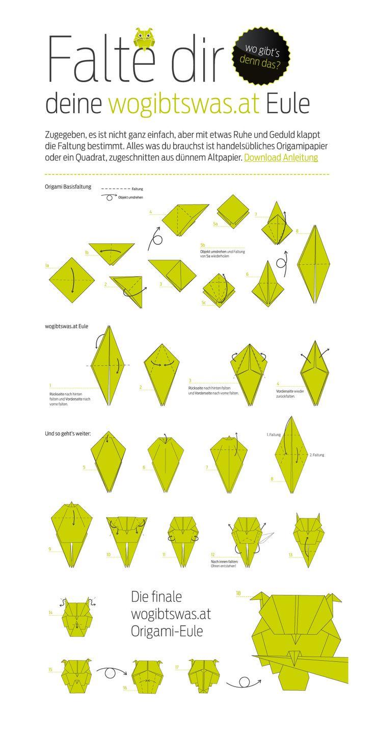 origami tiere anleitung - Google-Suche                              …