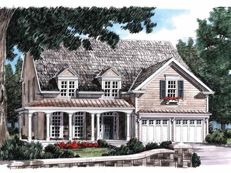 Eplans Country House Plan Subtle Accents Mark Country Home 2401 Square Feet Englisches Landhaus Landhaus Haus