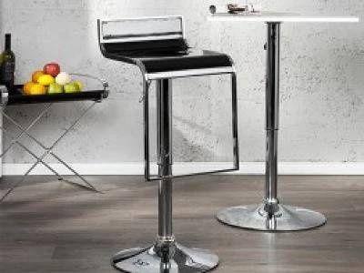 Moderní barová židle - Becky, černá