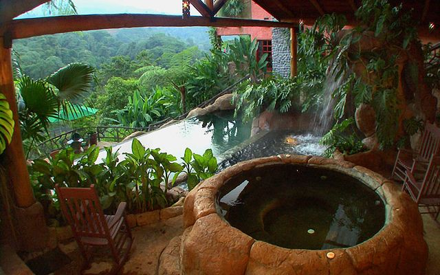 Peace Lodge Costa Rica - the view from our honeymoon suite - the first of 4 - we traveled:)