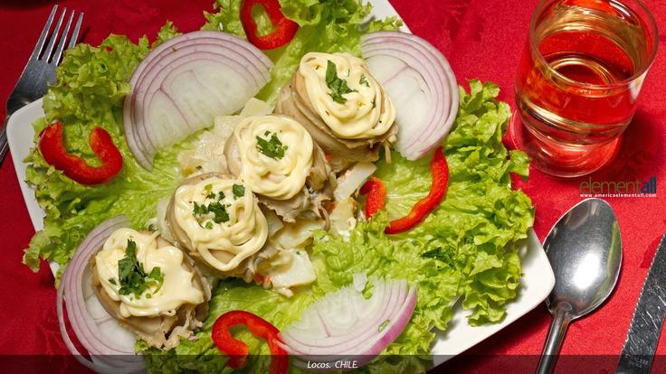 Locos con Mayonesa....(Abalone with mayonnaise)