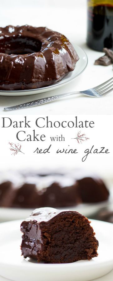 rich and silky smooth dark chocolate cake with a sinfully good red ...