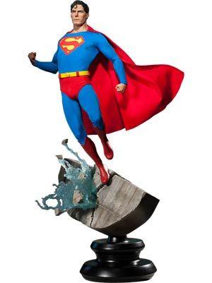 #Superman Christopher Reeve Version Premium Format Figure - Midtown Comics
