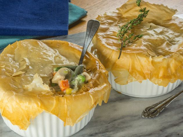 Did you know Silk® has a ton of Smoothie Solutions, like thisEasy Chicken Pot Pie?