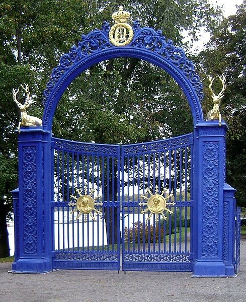 Blå Porten at Djurgården, Stockholm