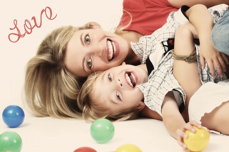 My Grandson and his Mom...look alikes! <3 Photography~children