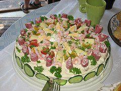 Recept smörgåstårta