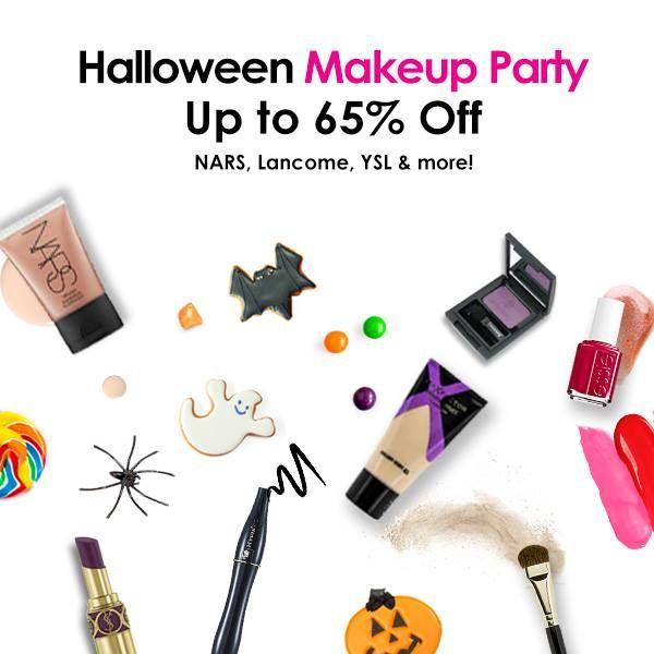 Последний шанс для покупок на Хэллоуин! Примерьте вампирский образ в самую дикую ночь года со скидками на макияж до 65%. У нас есть все от кроваво-красной помады до насыщенной черной подводки!