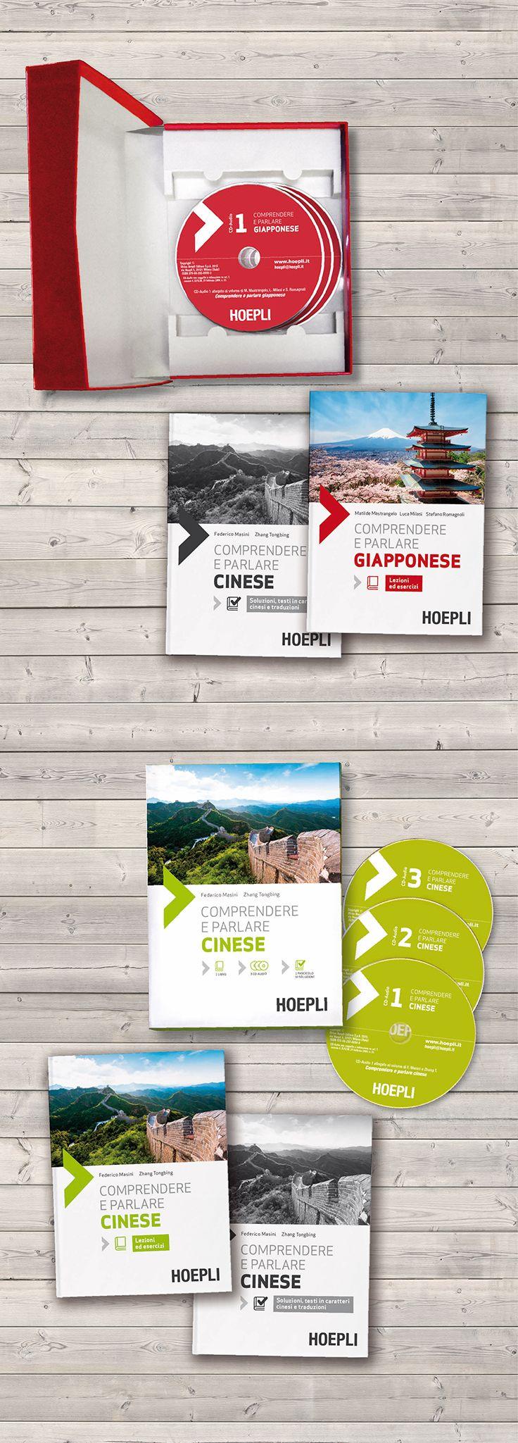Packaging design / Language Course Box / Hoepli Editore