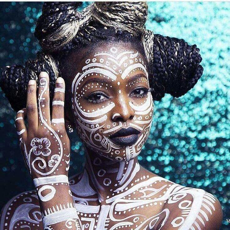 Tout le monde pense que Body Paint est un maquillage ou un déguisement … ERREUR …  Art Corporel