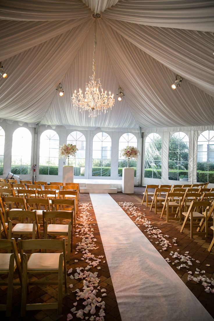 A Simple Yet Elegant Wedding Backdrop At The Ritz Carlton San Francisco Our
