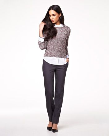 Everyday Stretch suit with Cecilia pant RW&CO. Spring 2014 Collection